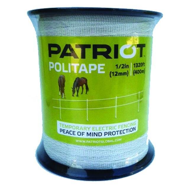 Tru-Test Patriot Politape 1320 - .5 White 821452