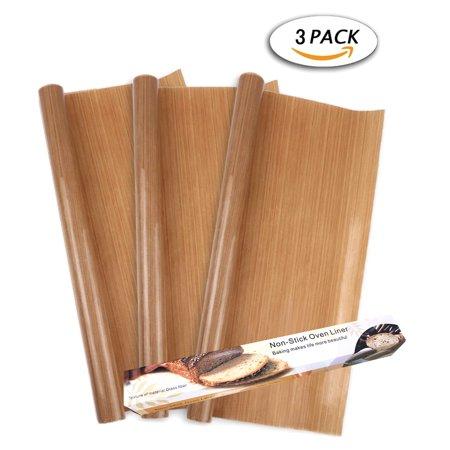 - 3 Pack PTFE Teflon Sheet for Heat Press Transfer Sheet 100% Non Stick 16 x 12