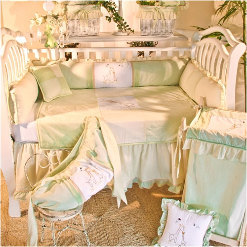 Brandee Danielle Little One 4 Piece Crib Bedding Set