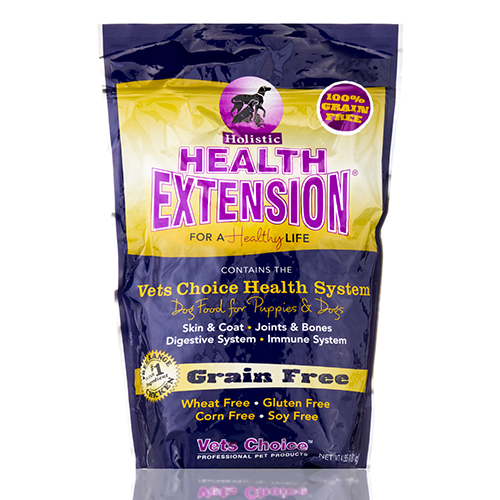 Grain Free Dog Food for Puppies & Dogs - 4 lbs (1.81 kg) by Health Extension