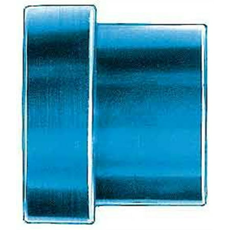 Aeroquip FBM3669 Tube Sleeve; -03AN Dash Size; Aluminum; Blue Anodized; Bulk Packaged; Tube Nut And Tube Sleeve Are Only To Be Used Together; ()