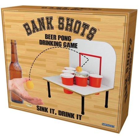Barbuzzo Bank Shots - Beer Pong Drinking Game