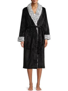 Secret Treasures Women's and Womens Plus Superminky Robe
