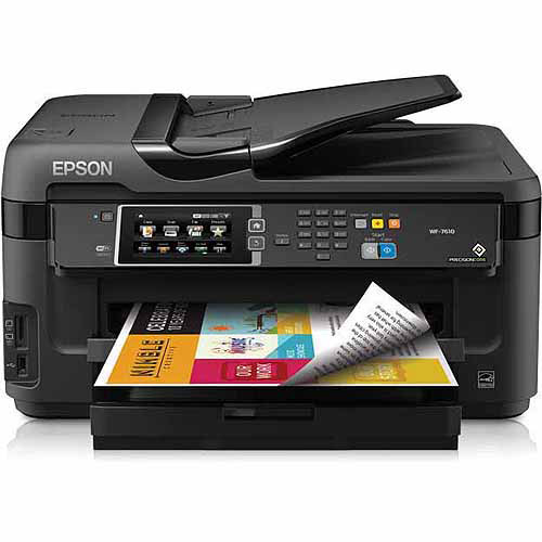 Epson WorkForce WF-7610 All-In-One Printer/Copier/Scanner/Fax Machine