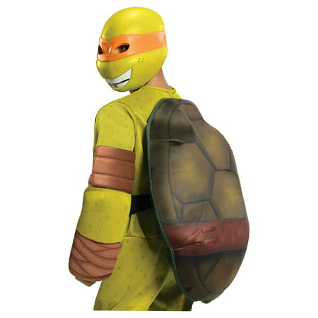 TMNT Michaelangelo Deluxe Boys Costume (April From Tmnt Costume)