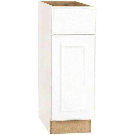 Hampton Bay 2478247 Base Cabinet, White, 12X24 In.