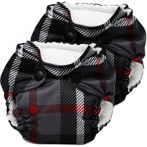 Kanga Care Lil Joey All in One Newborn Cloth Diaper, Dexter, 2 count