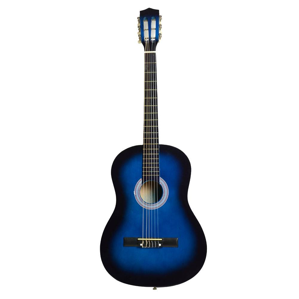 38 professional acoustic classic guitar pick strings blue. Black Bedroom Furniture Sets. Home Design Ideas