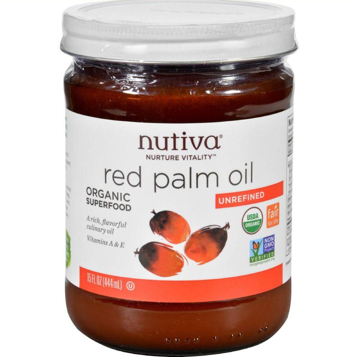 Frontier Nutiva Palm Oil - Organic - Superfood - Red - 15...