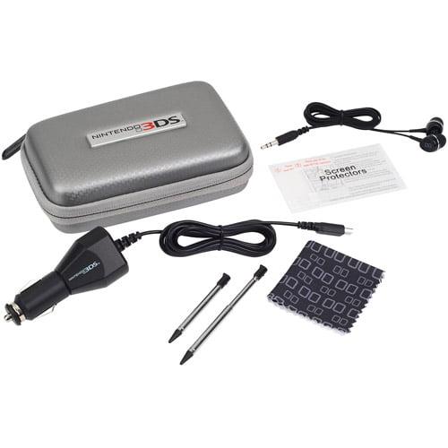 POWER A 3DS Explorer Starter Kit, Gray (3DS)