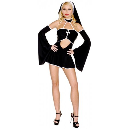 Gothic Nun Adult Costume - X-Small