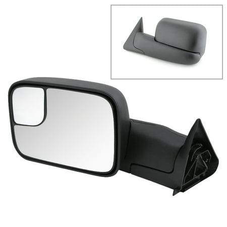 Xtune Dodge Ram 94-01 Manual Extendable Manual Adjust Mirror Left MIR-DRAM94-MA-L