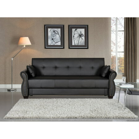 Serta Manchester Convertible Sofa with Storage, -