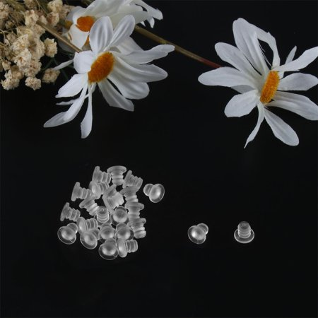 24pcs 5mm Soft Clear Stem Bumpers, Patio Outdoor Furniture Glass Table Top - image 2 of 4