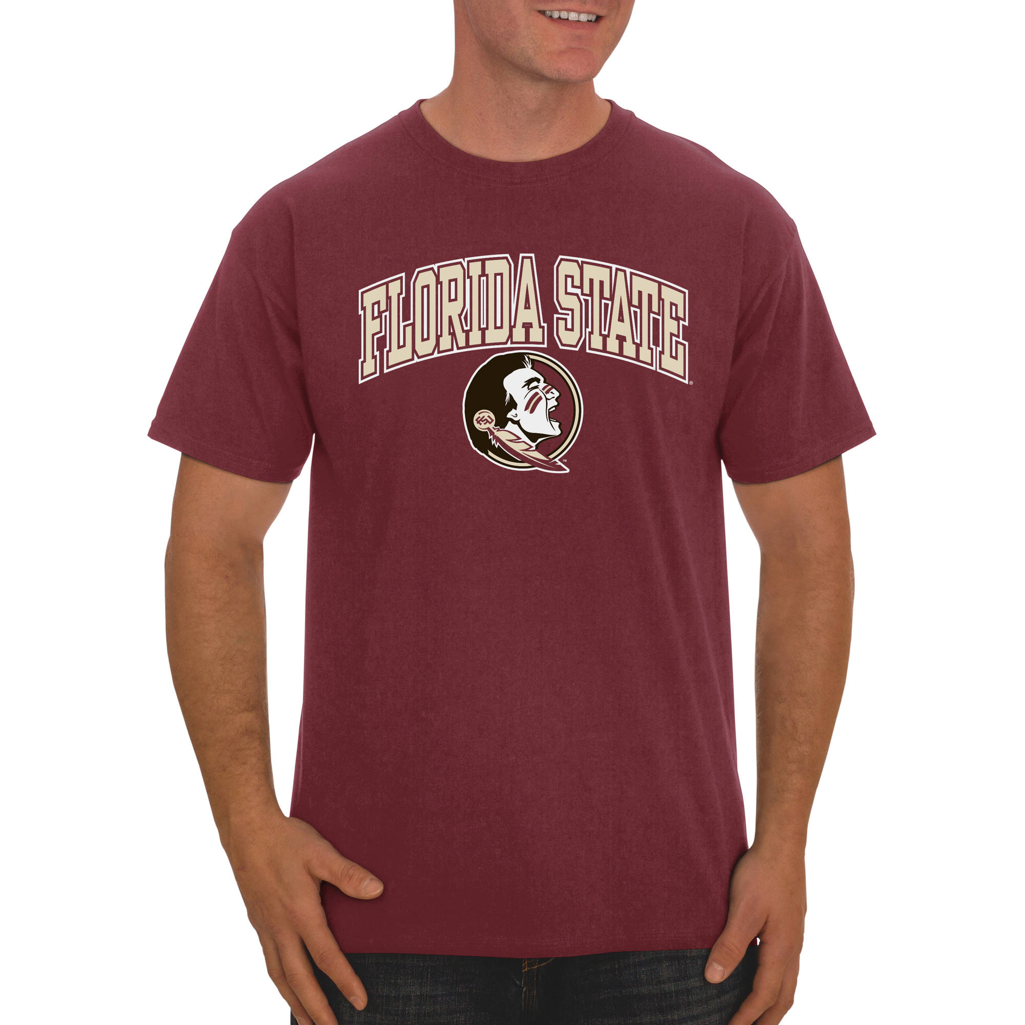 Russell NCAA Florida State Seminoles Men's Classic Cotton T-Shirt