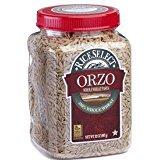 Rice Select Orzo 100% Whole Wheat Pasta Non GMO 26.5 Oz. Pk Of 3. (Rice Orzo)