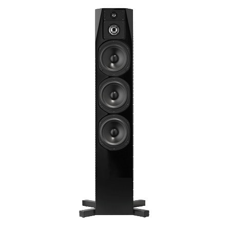 NHT C Series C-4 Floor-Standing 4-Way Tower Speaker (Single) - High Gloss