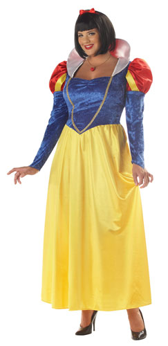 Snow White Womens Plus Size Halloween Costume size XL 1618  Walmart.com