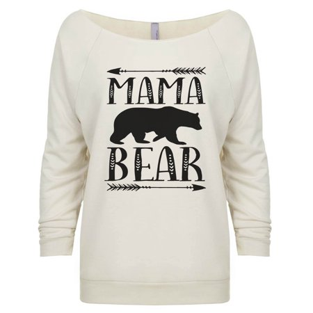 "Women's Cute 3/4 Sleeve ""Mama Bear"