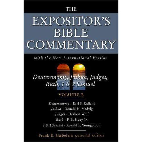 Deuteronomy, Joshua, Judges, Ruth, 1 and 2 Samuel : Volume 3