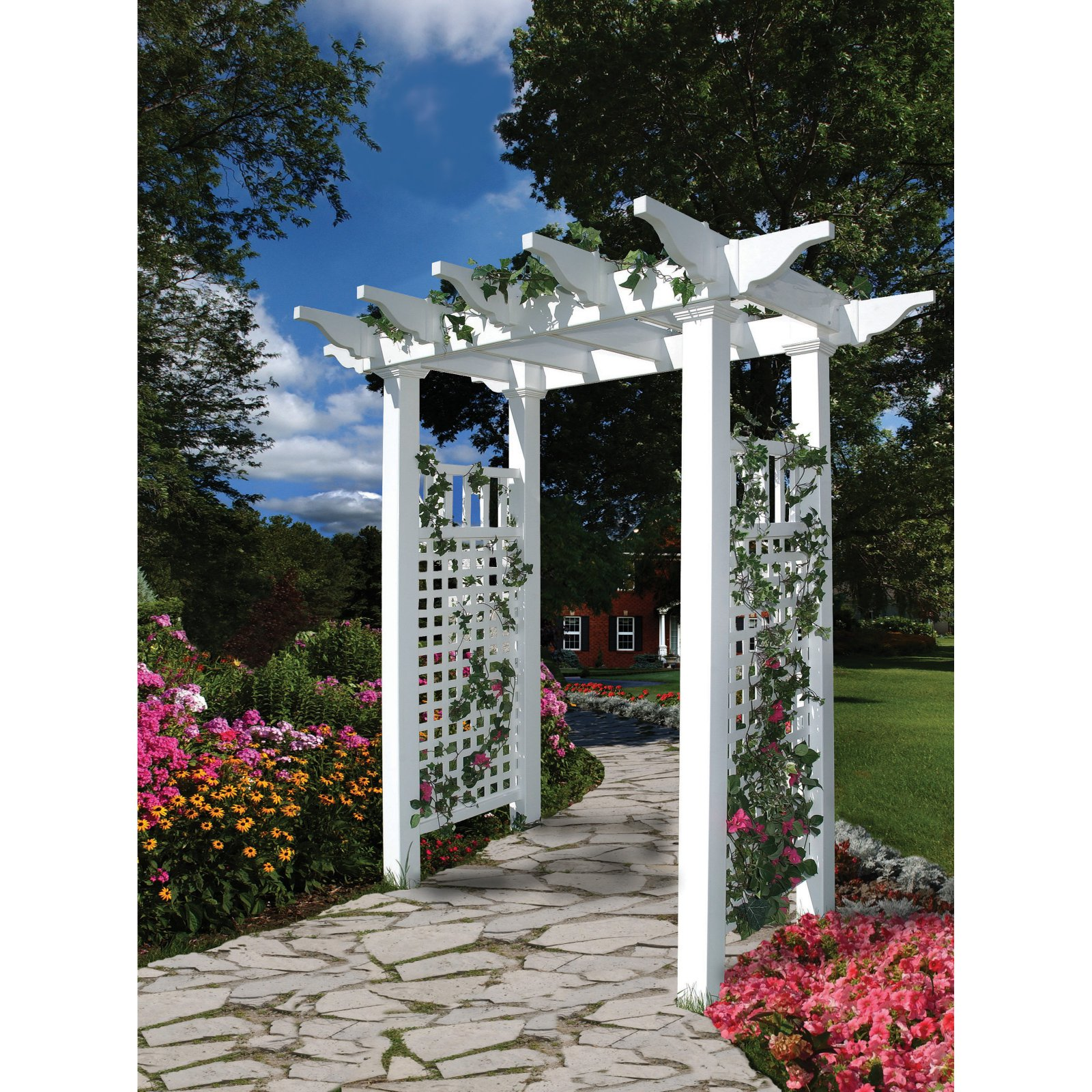 New England Arbors Fairfield 7-ft. Arbor by Arbors