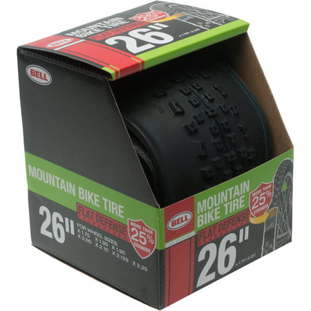 Bell Flat Defense Mountain Bike Tire, 26