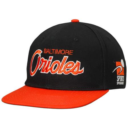 0929391f52046 Baltimore Orioles Nike Pro Cap Sport Specialties Snapback Adjustable Hat -  Black - OSFA