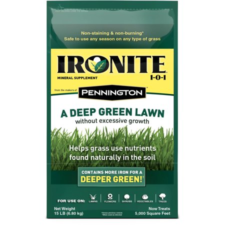 Ironite Mineral Supplement by Pennington 1-0-1 Soil Treatment, 15 lbs (Soil Treatment)