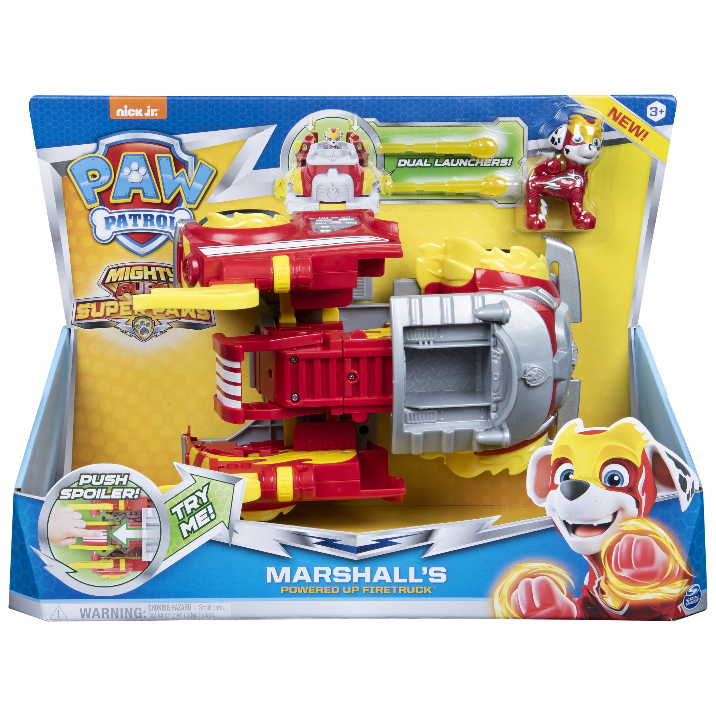 PAW Patrol, Mighty Pups Super Paws Powered up Transforming Vehicle (Styles May Vary)