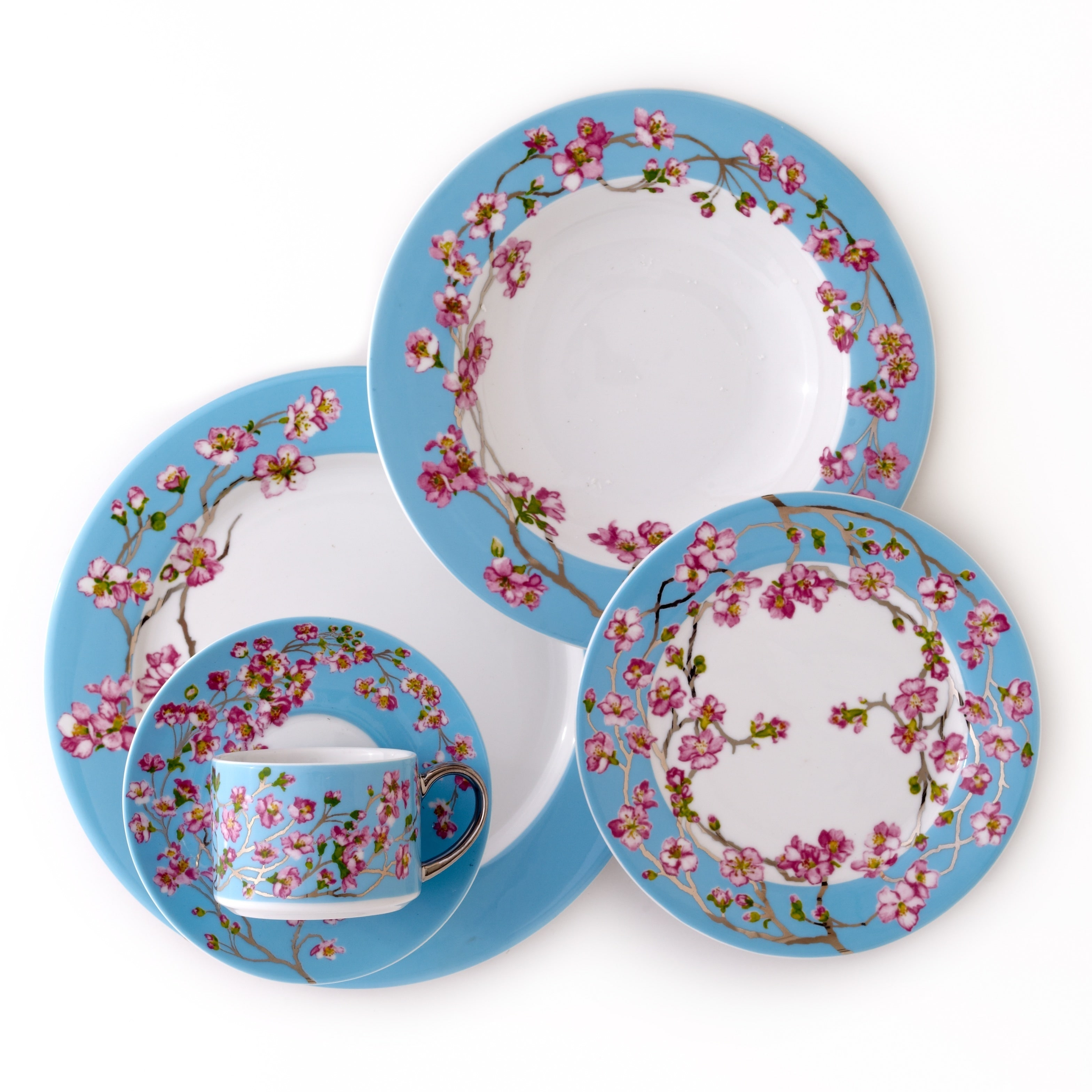 CRU by Darbie Angell Madison 5 Piece Place Setting