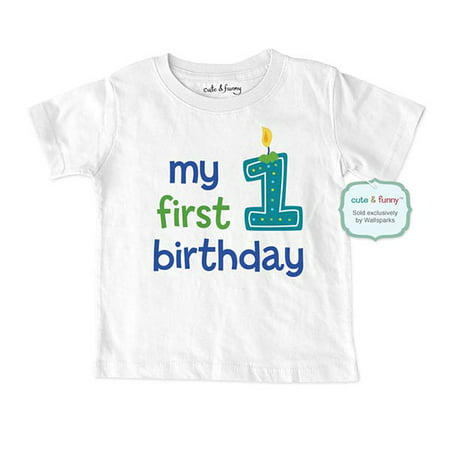 1st Birthday Shirt Boy.My First Birthday Baby Boy Design Baby Infant T Shirt Great 1st Birthday Shirt Cute Funny Wallsparks
