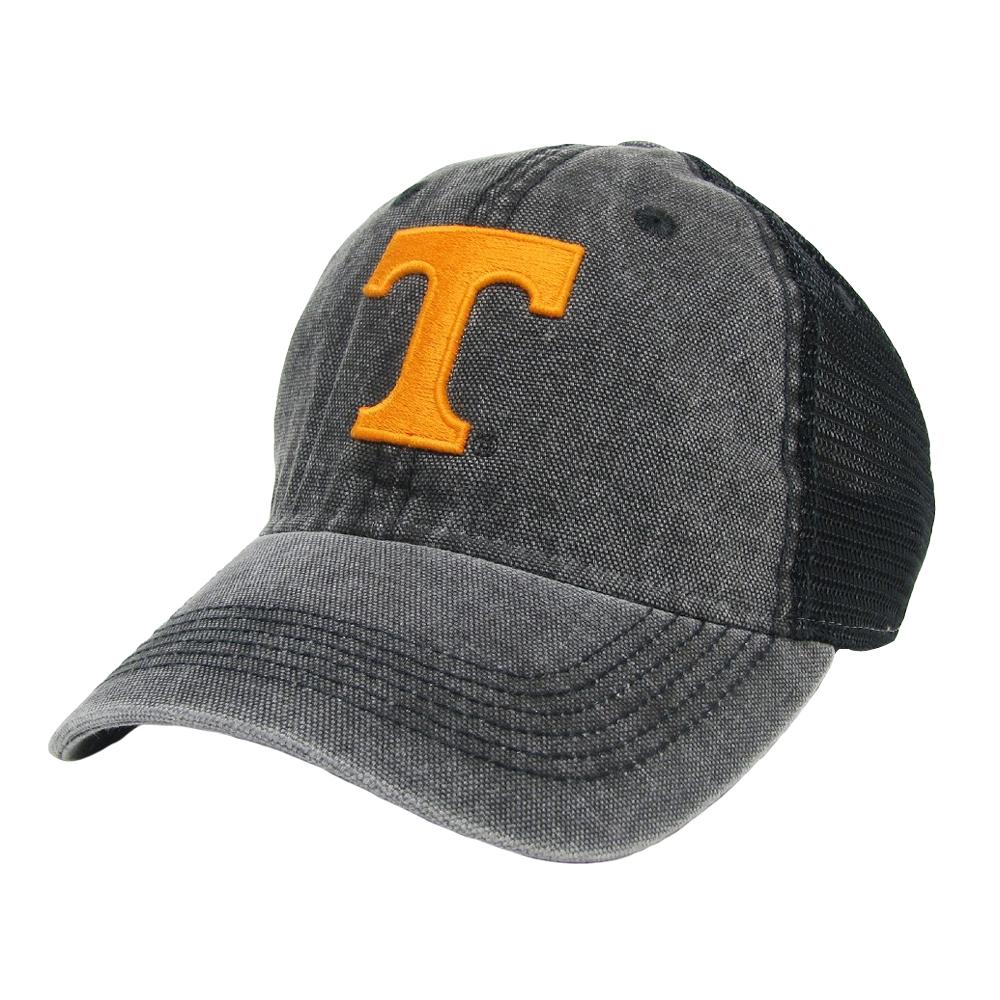 "Tennessee Volunteers Black Dashboard Trucker - Power ""T"" Logo"