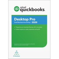 QuickBooks Desktop Pro 2020, Intuit, PC (Digital Download)