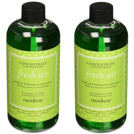 - 2 PACK- Genuine Rainbow Fresh Air Freshener / Deodorizer