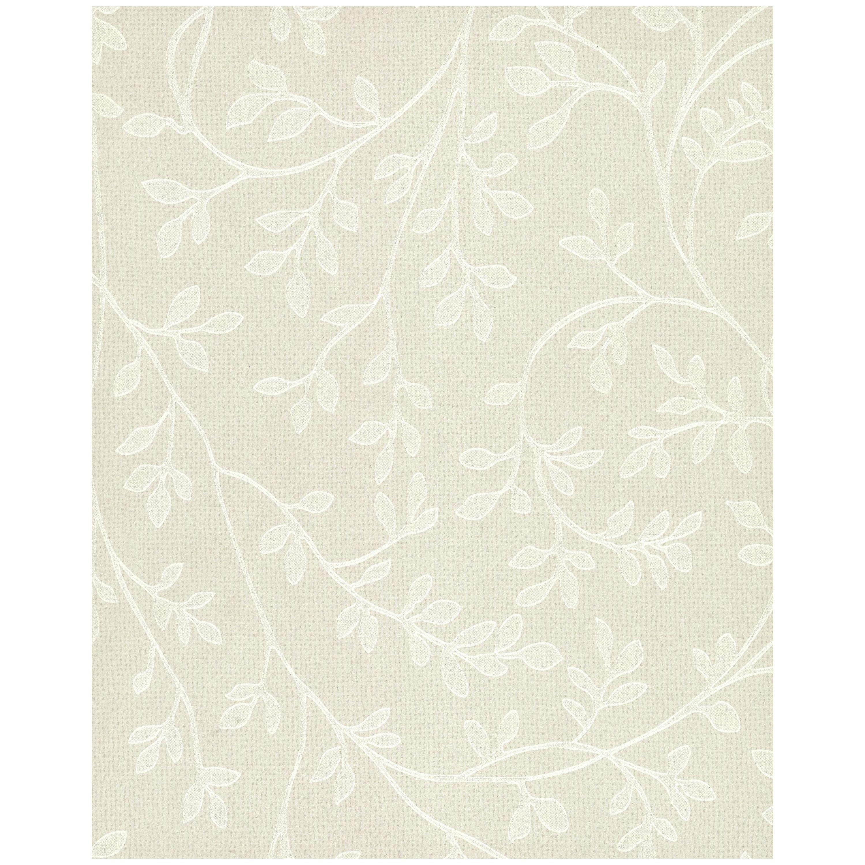 Leaf Vine Wallpaper - Iridescent