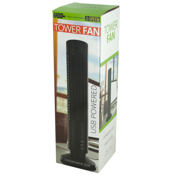 Usb Powered Tower Fan (Pack Of 1)