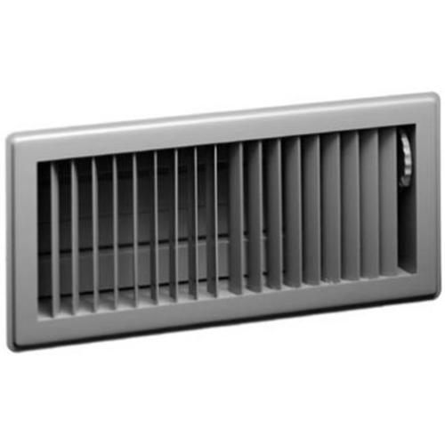 American Metal Products 413W2X10 2 x 10-Inch White Stampaire Steel Diffuser