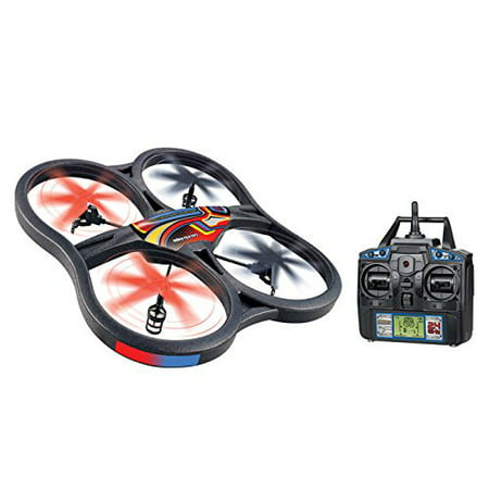 WORLD TECH TOYS 35879 5-Channel 2.4GHz Panther Spy Drone