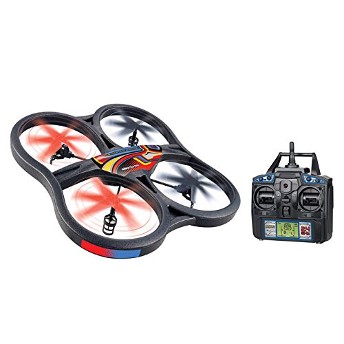 World Tech Toys Panther Ufo Video Camera 4.5ch 2.4ghz Rc Spy Drone - 2.40 Ghz - Battery Powered - Rf - Indoor, Outdoor (35879)