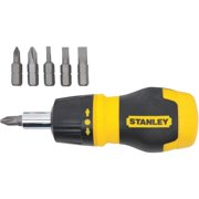 "Stanley 4-1/2"", Multi-Bit Screwdriver, 66-358"