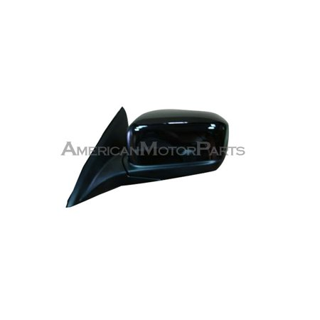 (Replacement Passenger Side Black Power Mirror For 03-07 Honda Accord)