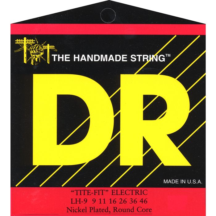 DR Strings LH-9 9-46 Tite-Fit Electric Guitar Strings