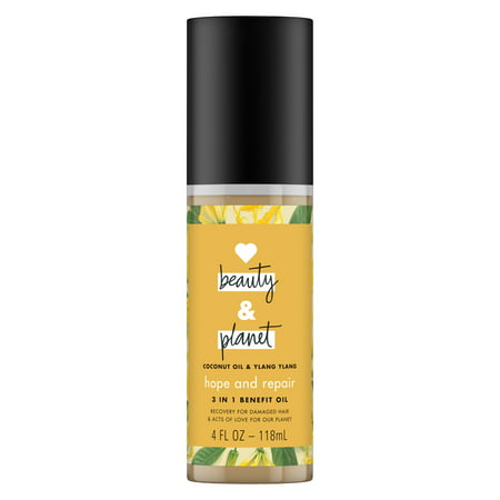 Love Beauty and Planet Hope and Repair Coconut Oil & Ylang Ylang Hair Oil, 4