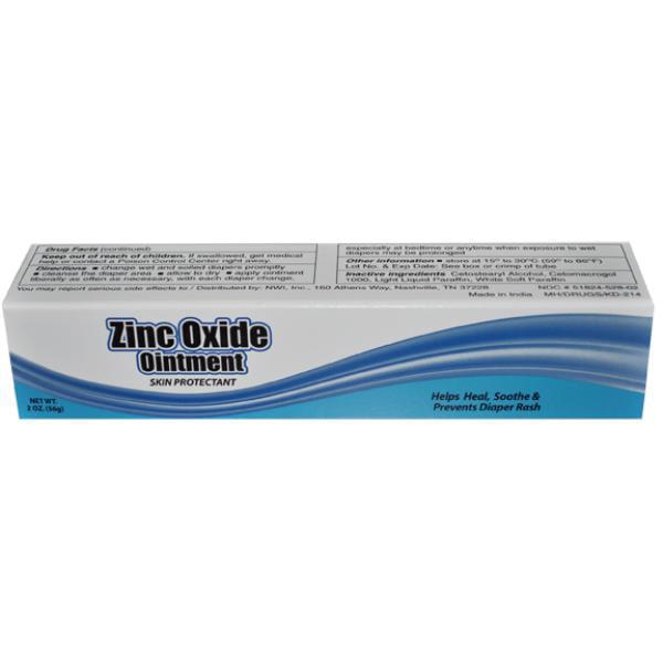 WMU Zinc Oxide 2 Oz Baby Diaper Rash Ointment (pack Of 72) by Wmu
