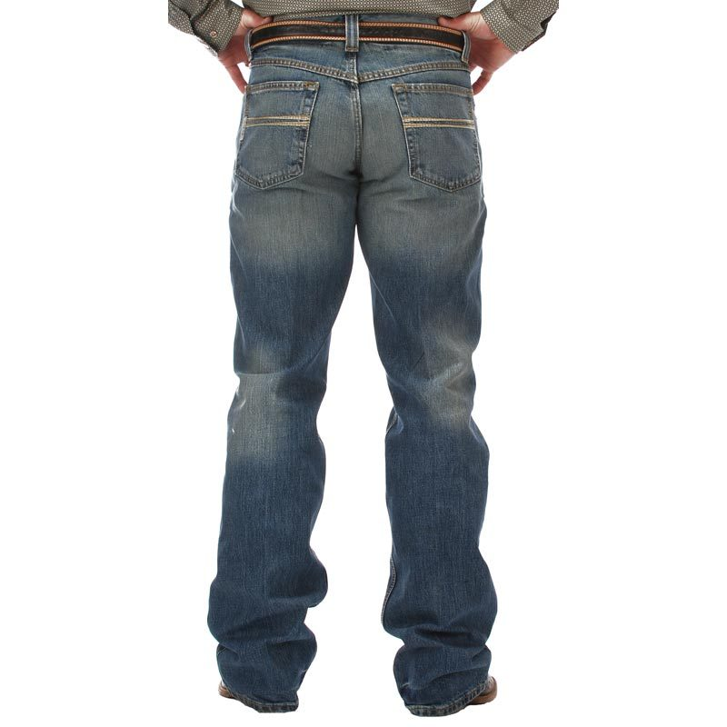 Cinch Apparel Mens  Carter Medium Stonewashed Jeans