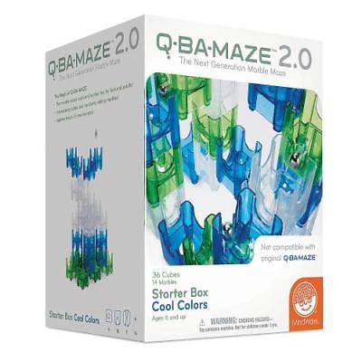 Cool Mazes (In-36199 Q-Ba-Maze 2.0: Starter Box - Cool Colors Price For 1)