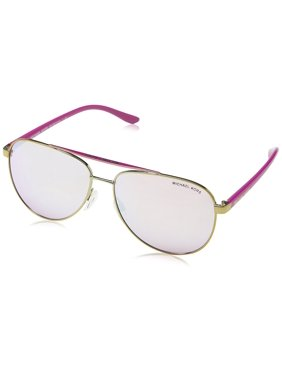 1ca2cf0074 Product Image Michael Kors Women s Mirrored Hvar MK5007-10397V-59 Pink Oval  Sunglasses