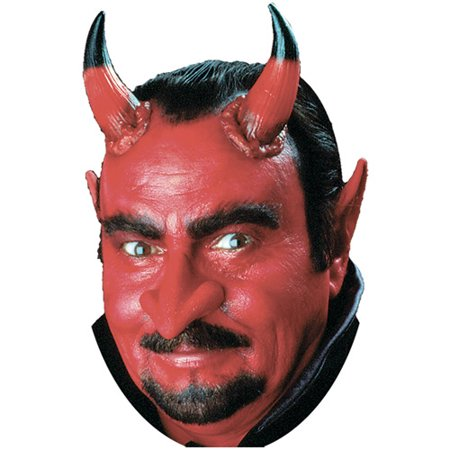 Woochie Large Devil Horns Halloween Accessory - Makeup Halloween Devil