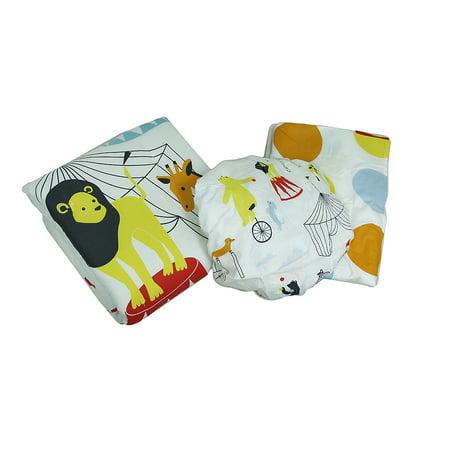 Comforter Sheets Shams Bed Skirt (At The Circus Polka Dot 3 Piece Crib Sheet Skirt Comforter Bedding Set )