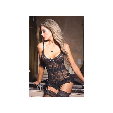 Coquette Black Bella Bustier 3393 Black